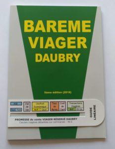 Barème Daubry 2018